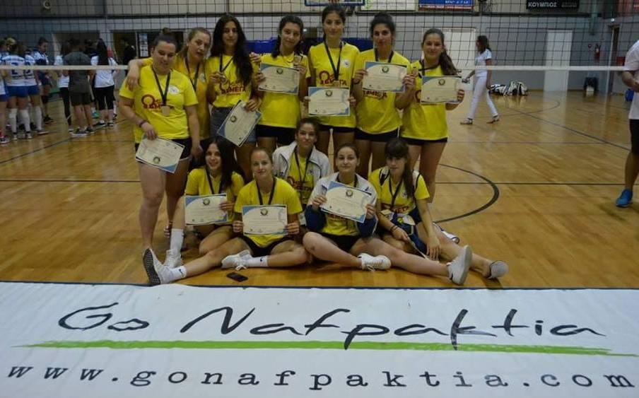 Τρίτη θέση σε διεθνές τουρνουά στη Ναύπακτο, ο Ακρίτας (photos)