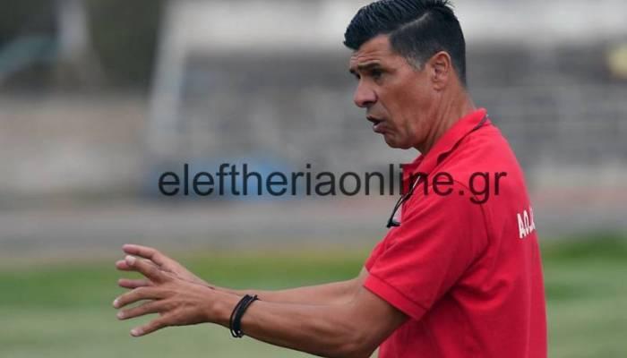 """ΔΙΑΒΟΛΙΤΣΙ: """"Η ομάδα έδειξε μέταλλο στη Ναύπακτο"""", τονίζει ο Μάρκος Στεφανίδης"""