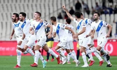 FIFA: Ανοδος δύο θέσεων για την Ελλάδα