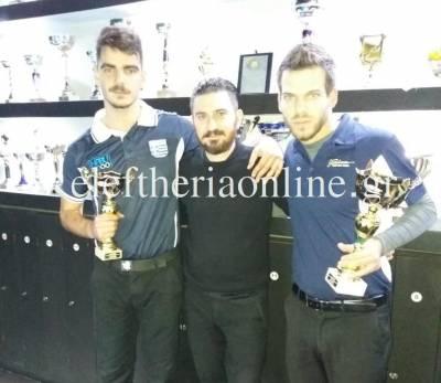"""Ο Παπαγεωργίου νικητής στο Πελοποννησιακό τουρνουά μπιλιάρδου στο """"TOP Billiards"""""""