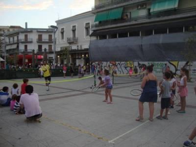 Τένις στην πλατεία της Καλαμάτας από τον ΟΑΚ!