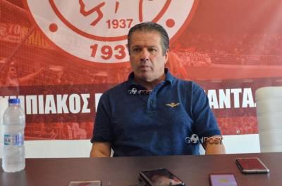 Σούλης Παπαδόπουλος: Να δείξουμε ότι κάτι αλλάζει στον Ολυμπιακό Βόλου!