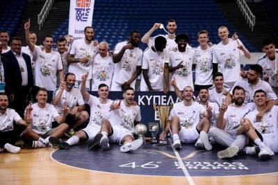 Κυπελλούχος για 20η φορά ο Παναθηναϊκός, 91-79 τον Προμηθέα στον τελικό (βίντεο)