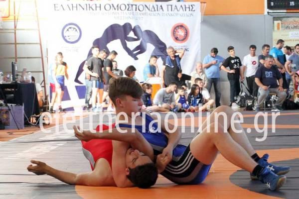 ΠΑΛΗ: Πλούσιο θέαμα στη Μεσσήνη από 300 νεαρούς αθλητές