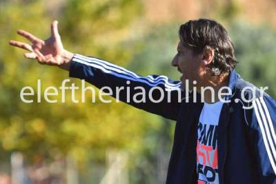 """ΑΝΔΡΟΥΣΑ:""""Να παίξουμε ελκυστικό ποδόσφαιρο"""", λέει ο νέος τεχνικός Λ. Σπάλλας"""