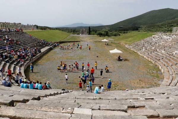 ΑΡΧΑΙΑ ΜΕΣΣΗΝΗ: Δεκάδες παιδιά στο αρχαίο πένταθλο
