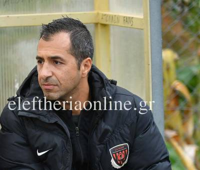 """ΑΠΟΛΛΩΝΑΣ ΠΕΤΑΛΙΔΙΟΥ: """"Να είμαστε έτοιμοι στην πρεμιέρα"""", λέει ο Γ. Αργυρόπουλος"""